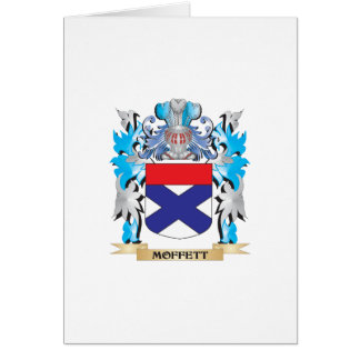 Moffett Coat of Arms - Family Crest Card