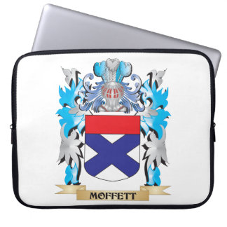 Moffett Coat of Arms - Family Crest Laptop Sleeve