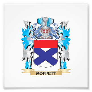 Moffett Coat of Arms - Family Crest Photo Print