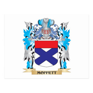 Moffett Coat of Arms - Family Crest Postcard