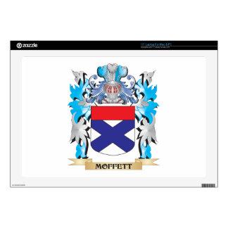 Moffett Coat of Arms - Family Crest Skins For Laptops
