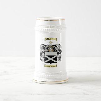 Moffitt Beer Stein