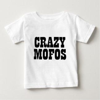 mofos locos playera de bebé
