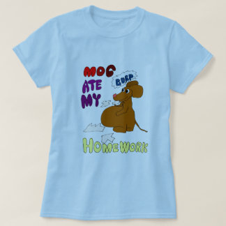MOG Ate My Homework T-Shirt