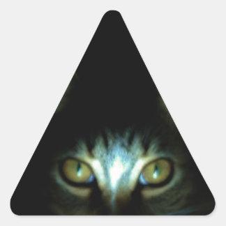 Mog místico pegatina triangular