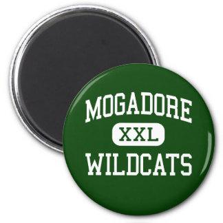 Mogadore - Wildcats - High School - Mogadore Ohio Refrigerator Magnets