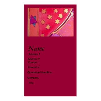 Mogen David Business Card Template