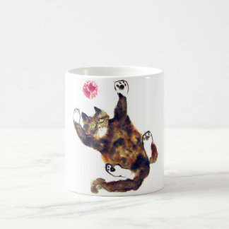 Moggie Merriment for the Calico Kitten Coffee Mug