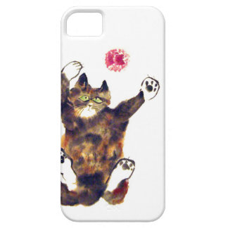 Moggie Merriment for the Calico Kitten iPhone SE/5/5s Case