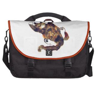 Moggie Merriment for the Calico Kitten Laptop Commuter Bag
