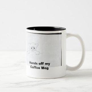 moggy, Hands off my Coffee Mog Coffee Mugs