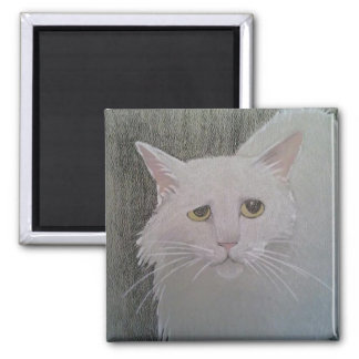 Moglie painting 2 inch square magnet