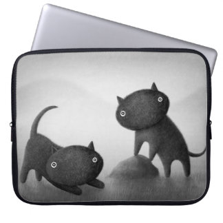 Mogs 2 laptop sleeve