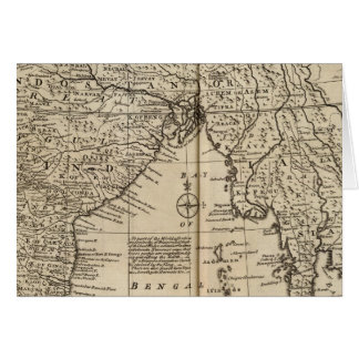 Mogul Empire, India Greeting Card