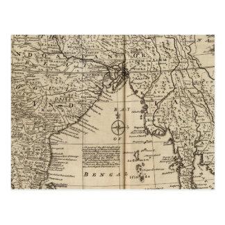 Mogul Empire, India Post Cards