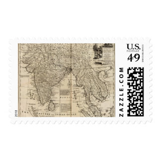 Mogul Empire, India Postage Stamps