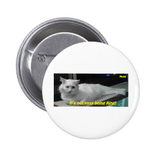 Mogul the King 2 Inch Round Button