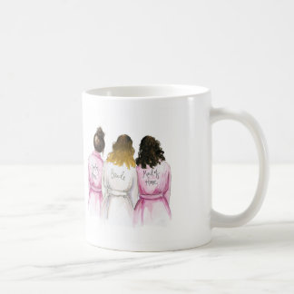 MOH? Ombre Bride with Two Attendants Coffee Mug