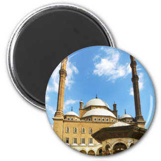 Mohame Ali Mosque 2 Inch Round Magnet