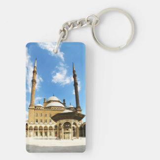 Mohame Ali Mosque Double-Sided Rectangular Acrylic Keychain