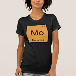 Mohamed Name Chemistry Element Periodic Table T-Shirt