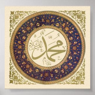 Mohamed (sierras) póster