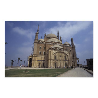 Mohammed Ali Mosque at the Citadel of Cairo, 2 Print