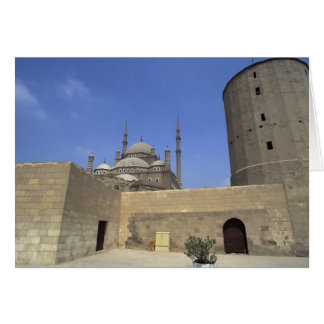 Mohammed Ali Mosque at the Citadel of Cairo, Card