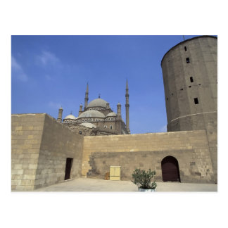 Mohammed Ali Mosque at the Citadel of Cairo, Postcard