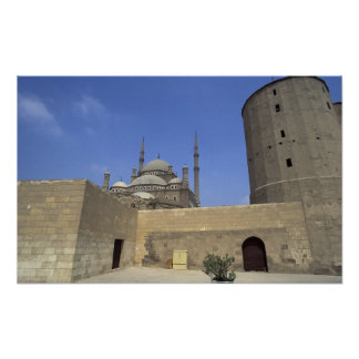 Mohammed Ali Mosque at the Citadel of Cairo, Print