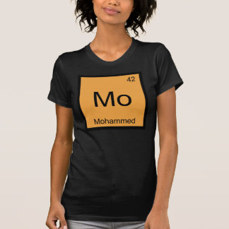 Mohammed Name Chemistry Element Periodic Table Tshirts