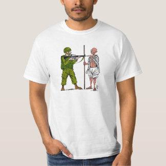 Mohandas Gandhi against Violence & Occupation Tee Shirt