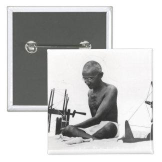 Mohandas Karamchand  Gandhi Button
