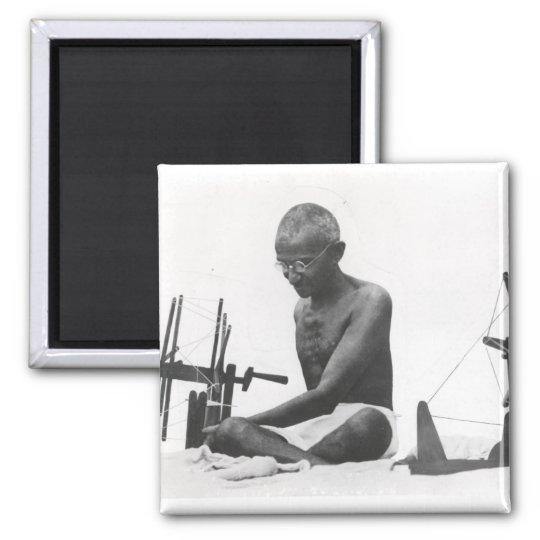 Mohandas Karamchand Gandhi Imán Cuadrado