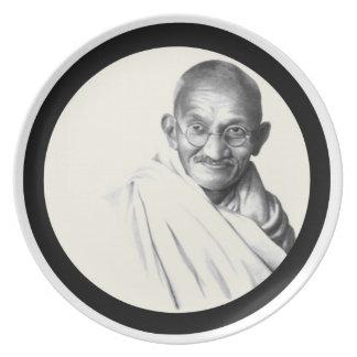 Mohandes Gandhi Plate