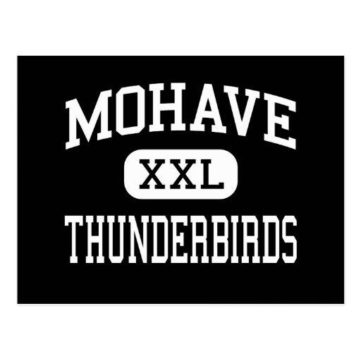 Mohave - Thunderbirds - alto - ciudad del siluro Postales