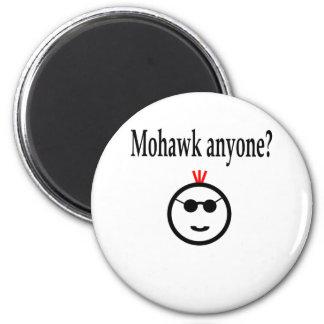 Mohawk Anyone Refrigerator Magnets