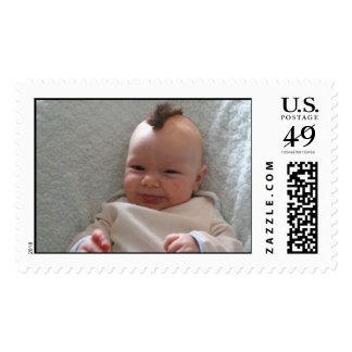mohawk baby stamp