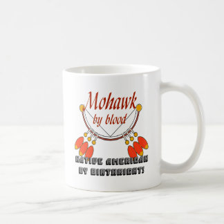 Mohawk Classic White Coffee Mug