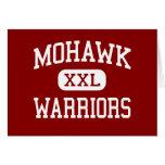 Mohawk - guerreros - High School secundaria - sicó Tarjetón