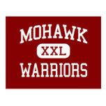 Mohawk - guerreros - High School secundaria - sicó Tarjeta Postal
