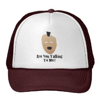 mohawk guy trucker hat