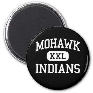 Mohawk - Indians - High School - Marcola Oregon Fridge Magnet