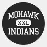 Mohawk - indios - High School secundaria - Marcola Pegatinas