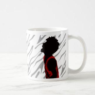 Mohawk Kid Classic White Coffee Mug