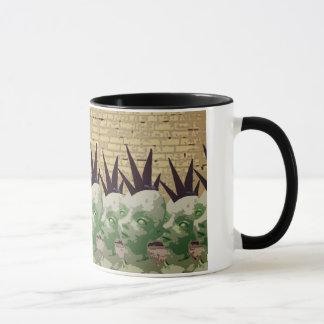 Mohawk Martian Mug