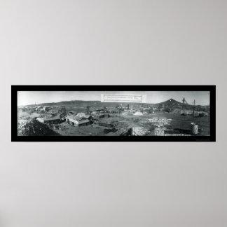 Mohawk Mine Goldfield Photo 1906 Poster