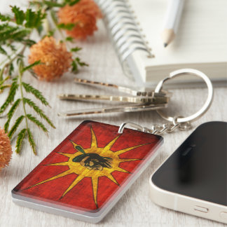 Mohawk Nation Keychain