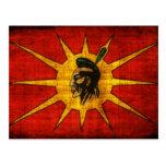 Mohawk People Flag Postcard