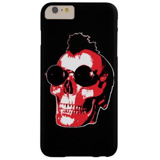 Mohawk Skull - Rock'n'Roll Barely There iPhone 6 Plus Case